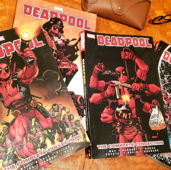 🔴 DEADPOOL:The Complete Collection by Daniel Way
